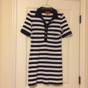 Tory Burch border button down dress